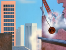 Daffy Duck's Quackbusters (1988) WB CARTOON, YELL - PAINFUL YELL 04