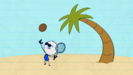 Pencilmate Plays on The Beach! Animated Cartoons Characters Animated Short Films Pencilmation 0-50 screenshot