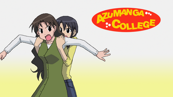 Azumanga College Fan-Made Poster.png