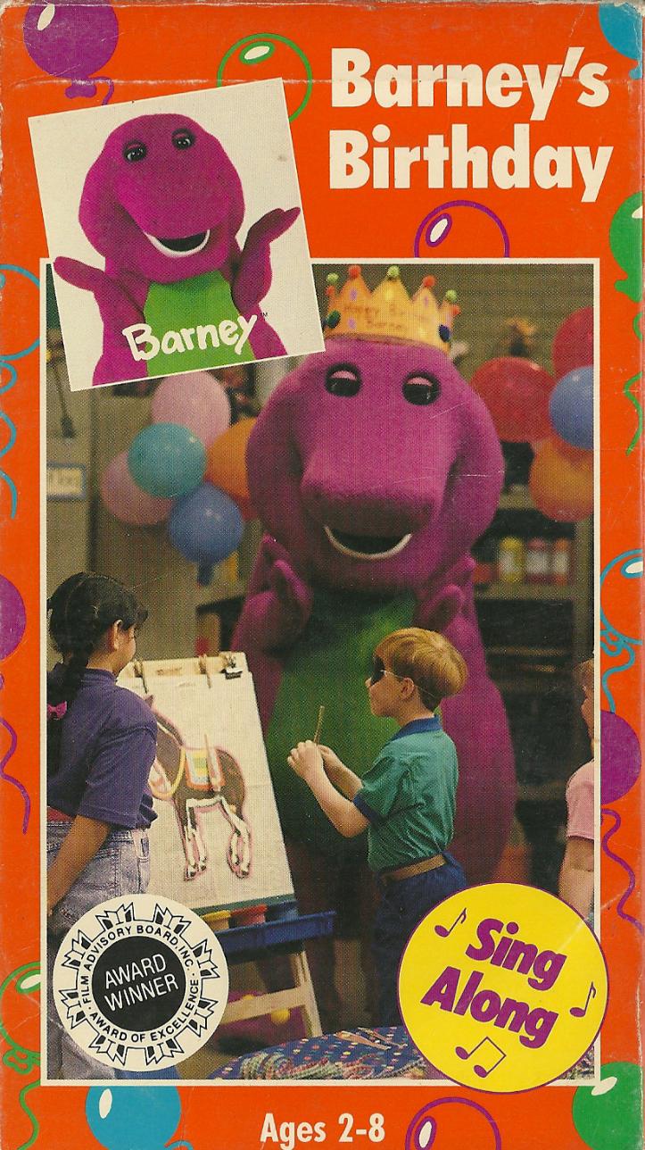 Barney's Birthday (1992 video)