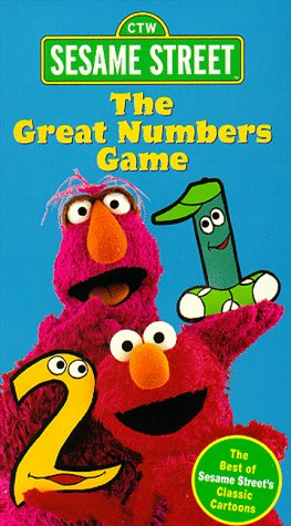 Sesame Street: The Great Numbers Game (1998) (Videos)