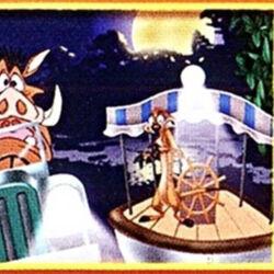 Timon and Pumbaa's Virtual Safari (Other Media) (The Lion King Platinum Edition DVD)