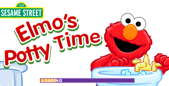 Elmo's Potty Time (Online Game)