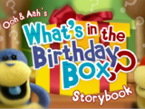 Ooh and Aah's What's in the Birthday Box? Storybook