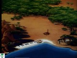 Disney Cartoon Goofy's African Diary African Drum Beats CRT043302.png