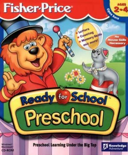 Fisher-Price: Ready for School - Preschool