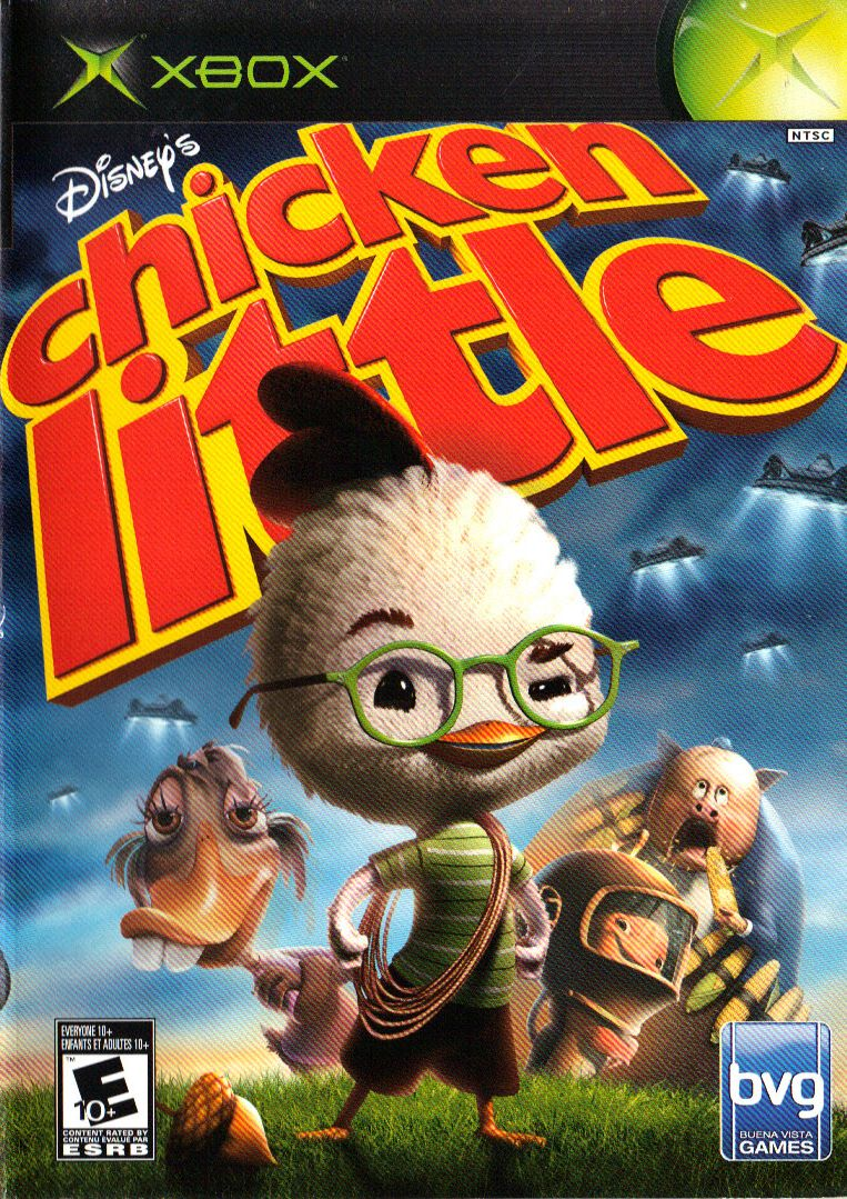 Chicken Little (2005) (Video Game)