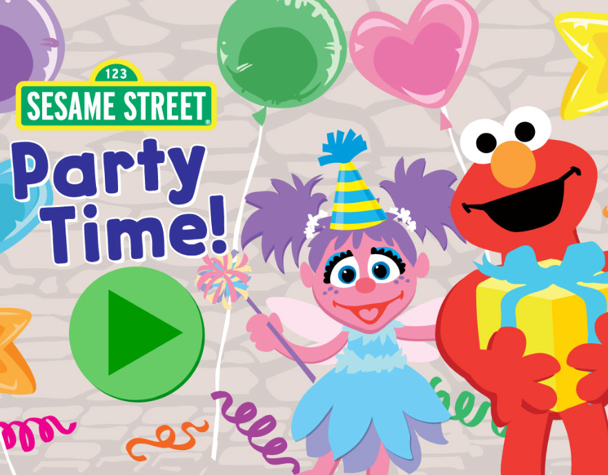 Sesame Street: Party Time! (Online Games)