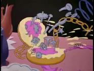 Alice in Wonderland Funny Alarm Clock Be CRT034701 Debut