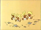 Bugs Bunny's 3rd Movie 1001 Rabbit Tales Sound Ideas, CARTOON, CHATTER - SEVERAL VOICES CHATTERING FAST