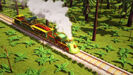 Dinosaur Train Sound Ideas, TRAIN, STEAM - WHISTLE, MANY BLASTS, CLOSE UP (High Pitched)