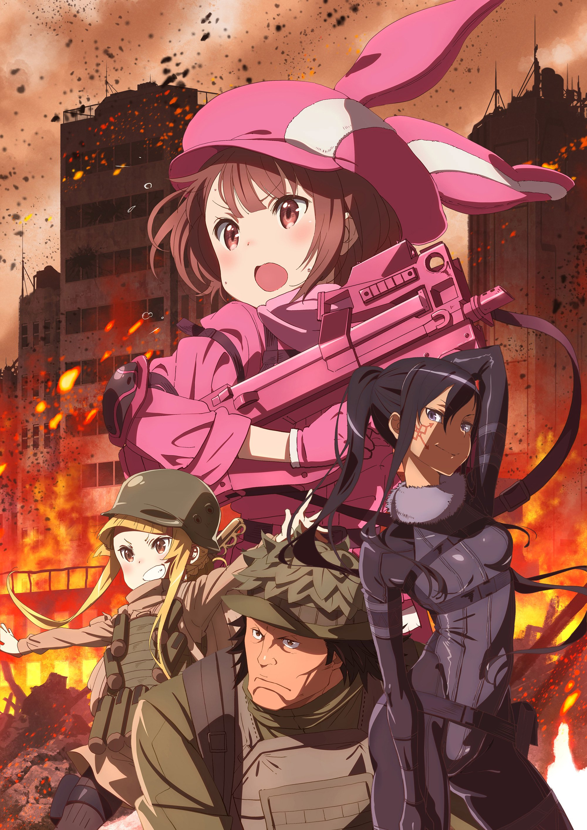 Sword Art Online Alternative Gun Gale Online