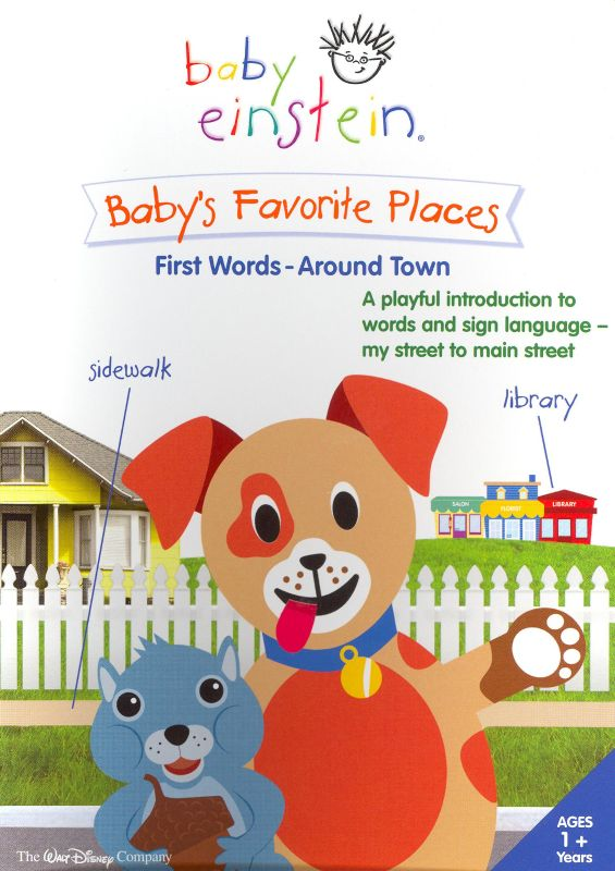Baby's Favorite Places: First Words Around Town (2006) (Videos)