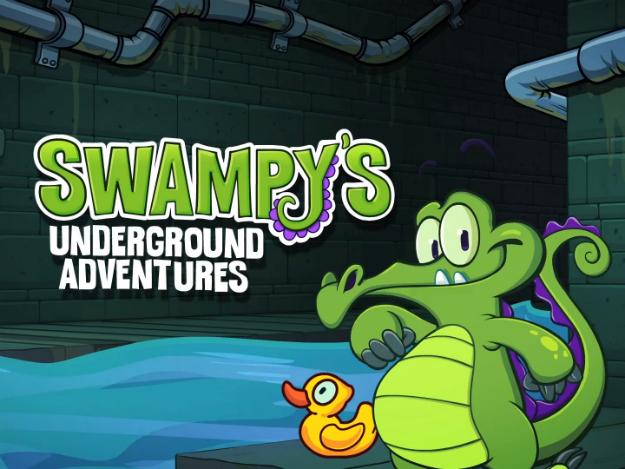 Swampy's Underground Adventure