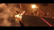 Landing at Port Rain SKYWALKER EXPLOSION 13