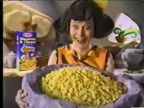 Kraft Flinstones Macaroni & Cheese (1994) (Commercials)