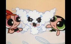 The girls in the clouds from the Powerpuff Girls episode, Major Competition.jpg