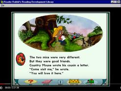 Reader Rabbits Reading Development Library 2 CARTOON, LAUGHTER - CHIPMUNK LAUGH, HUMAN