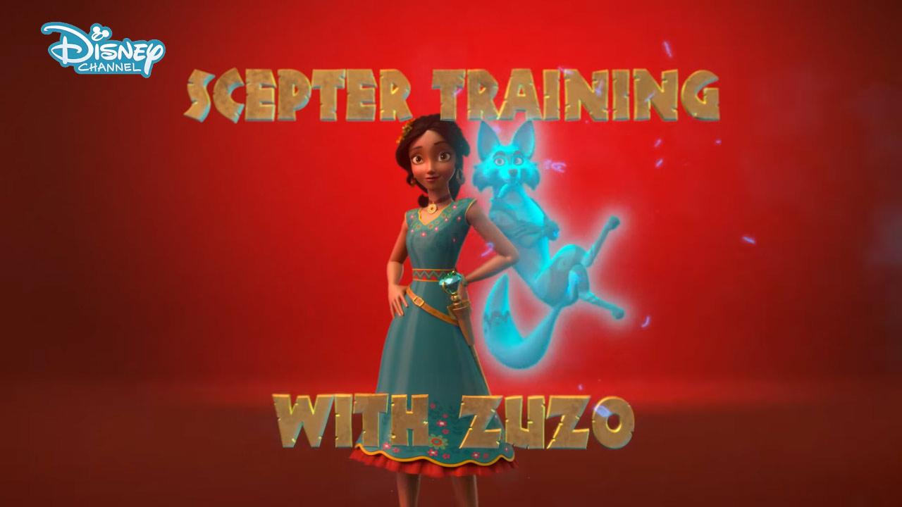 Scepter Training with Zuzo