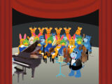 Sound Ideas, ORCHESTRA - TUNING UP BEFORE CONCERT, MUSIC