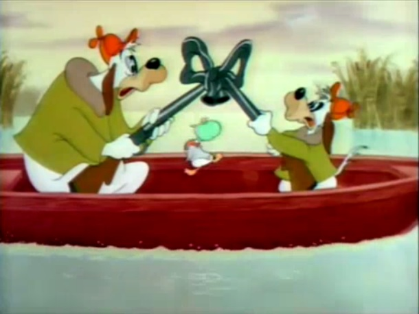 MGM DUCK, CARTOON - LITTLE LAUGHING DUCKLING