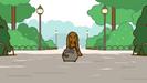 Pusheen's valentine rottweiler growl (2)