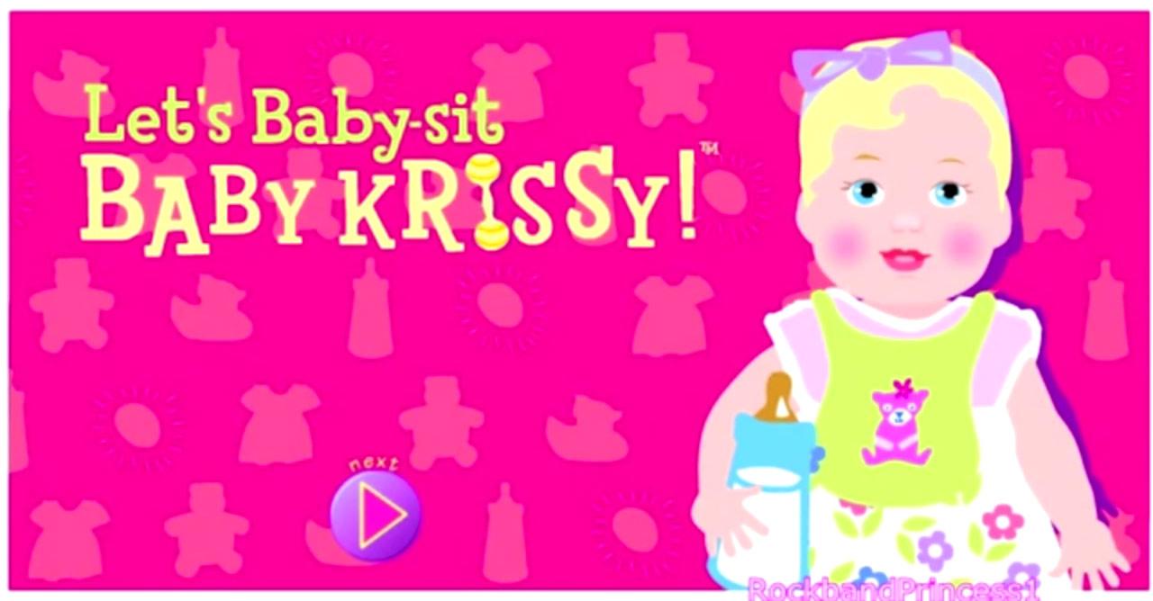 Barbie - Let's Baby-sit Baby Krissy! (Online Games)