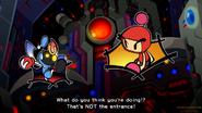 Super Bomberman R Cutscene Magnet Bomber Intro XYLO HEAD SHAKE
