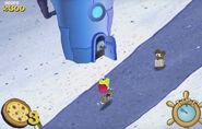 SpongeBob SquarePants SpongeBob's Pizza Toss Sound Ideas, DOOR, WOOD - OPEN, 02