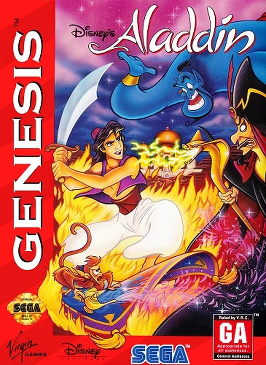 Aladdin (Sega Genesis Video Game)