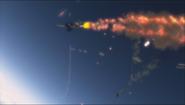 Sky Crawlers stock Fasal explosion