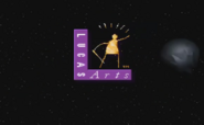 SW Rebel Assault LucasArts Finale Logo SKYWALKER, SPACECRAFT - SPACECRAFT PASS BY 02