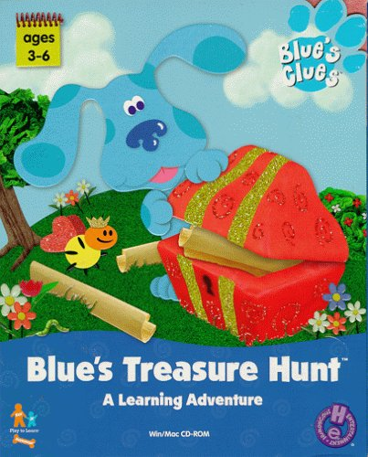 Blue's Treasure Hunt (2000) (PC Game)