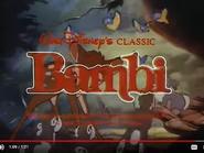 Bambi 1988 Reissue Trailer Sound Ideas, BIRDS, VARIOUS - LIGHT CHIRPING, ANIMAL,