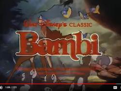 Bambi 1988 Reissue Trailer Sound Ideas, BIRDS, VARIOUS - LIGHT CHIRPING, ANIMAL,.png