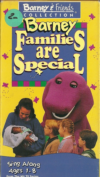 Barney's Families are Special (1995 video)