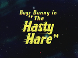 The Hasty Hare