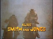 'Alias Smith and Jones' Title Card