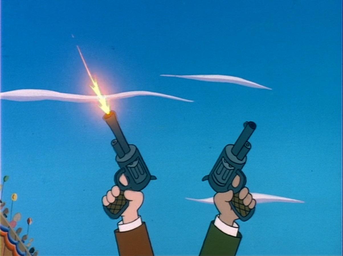 WB CARTOON - GUN SHOT