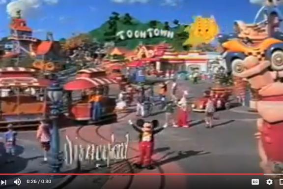 Disneyland Commercial: Mickey's Toontown (1993)