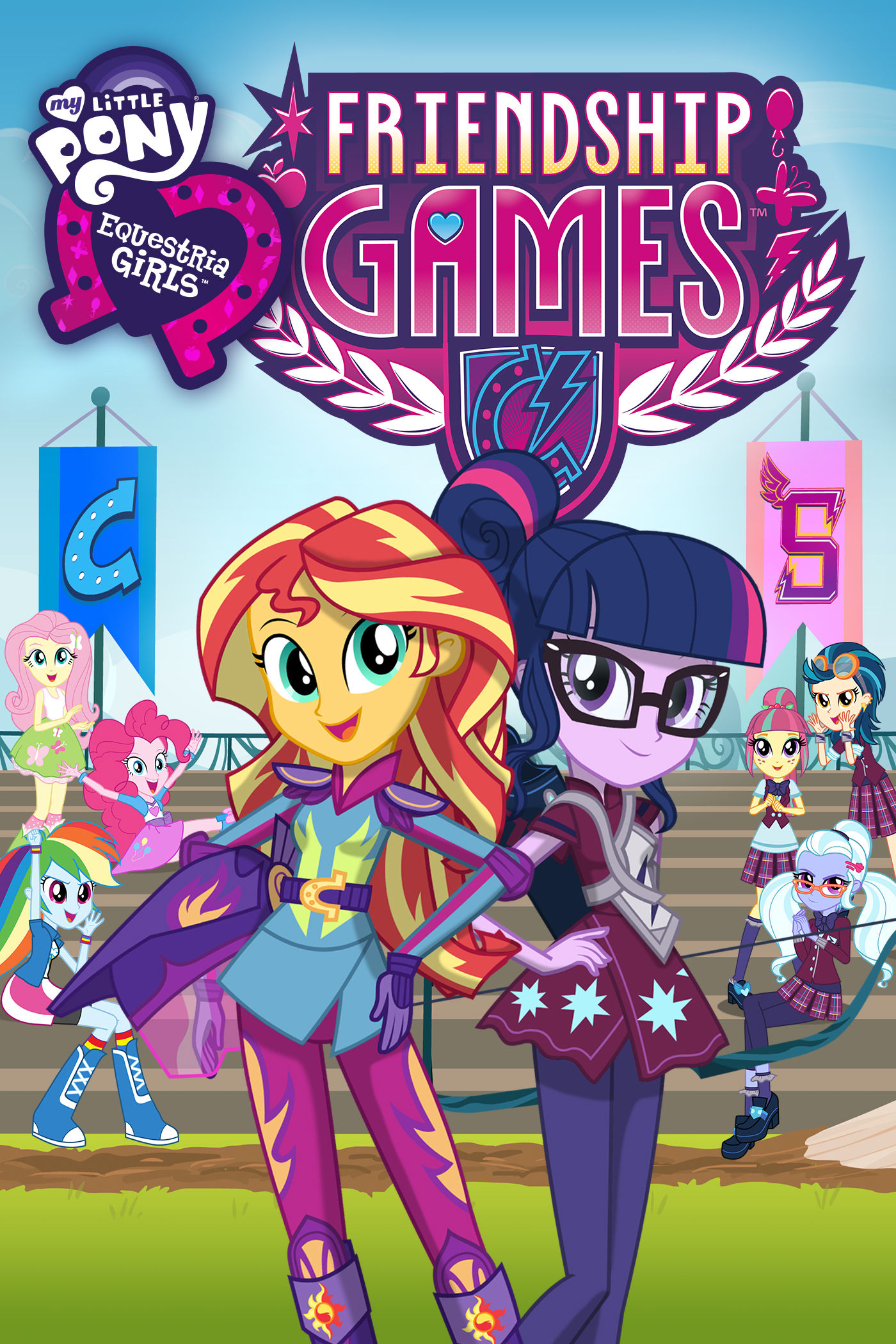 My Little Pony: Equestria Girls: Friendship Games (2015)