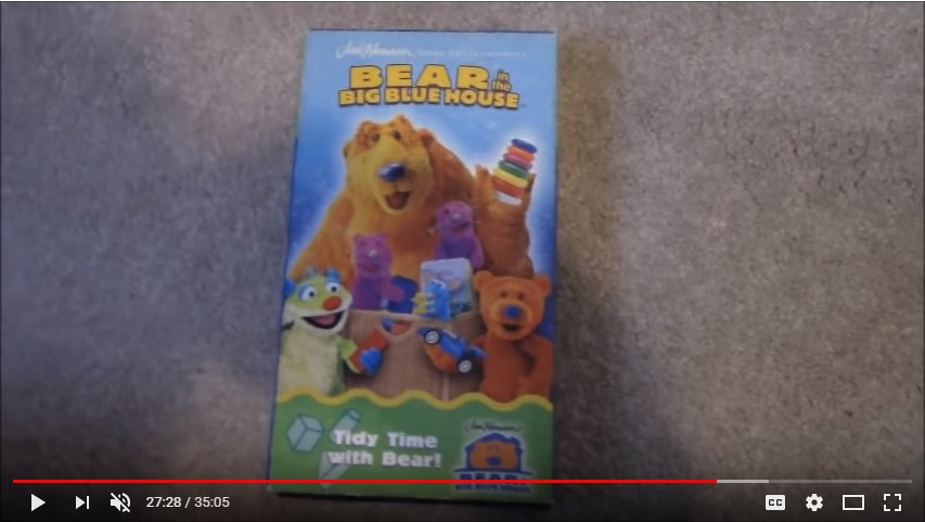 Bear in the Big Blue House: Tidy Time With Bear (2002)