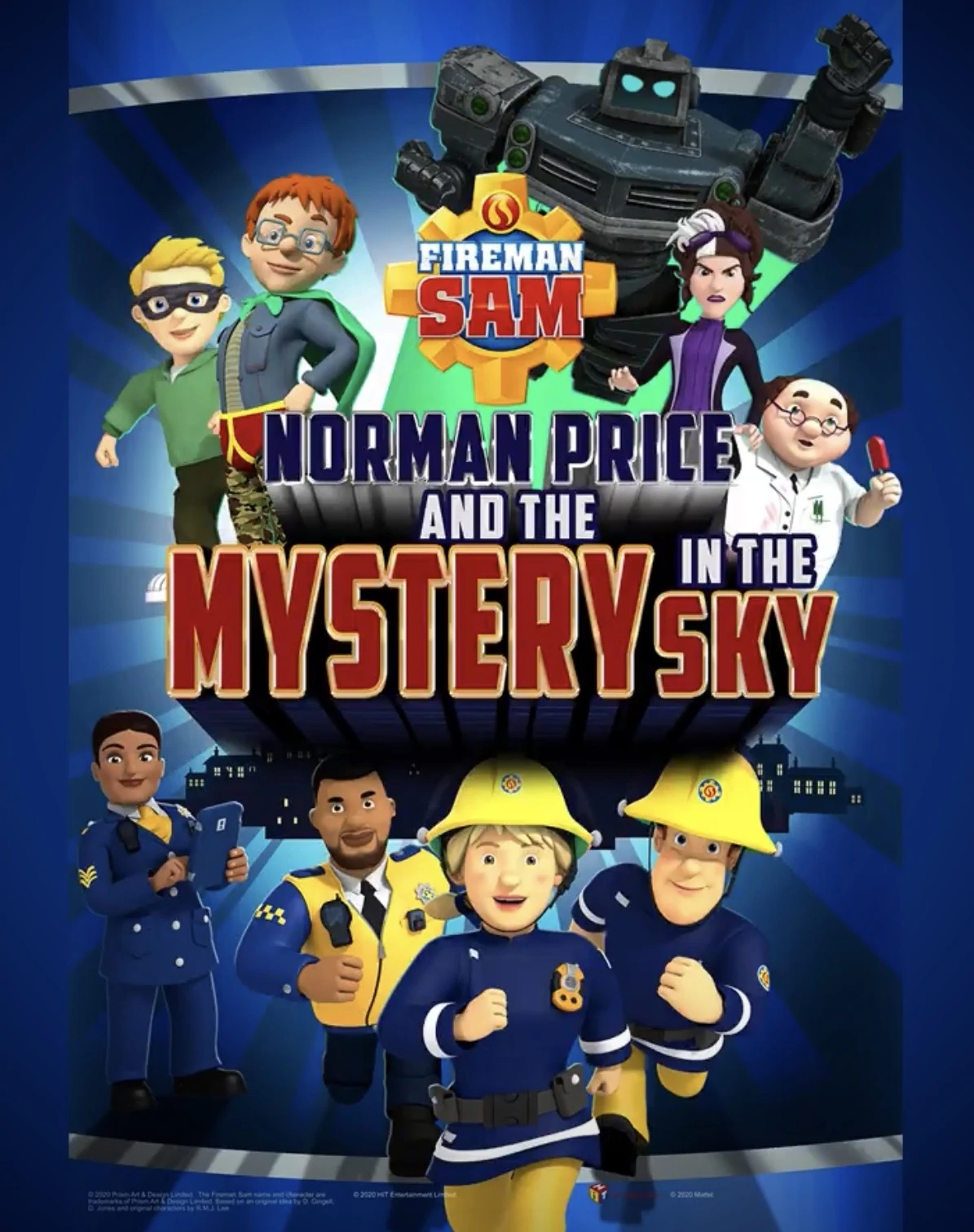 Fireman Sam: Norman Price and the Mystery in the Sky (2020)