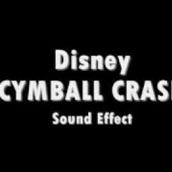 Disney Cymbal Crash Sound