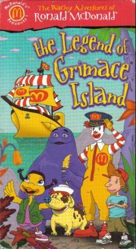 The Wacky Adventures of Ronald McDonald: The Legend of Grimace Island (1999)