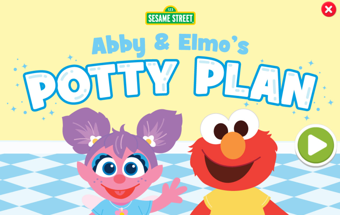 Sesame Street: Abby and Elmo's Potty Plan (Online Games)