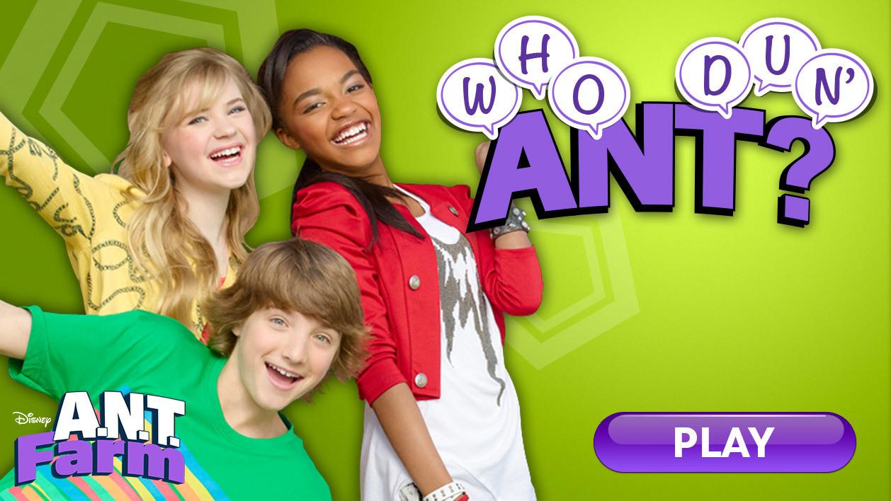 A.N.T. Farm: Who Dun' ANT? (Online Games)