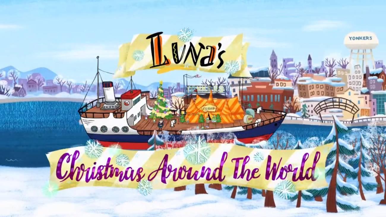 Luna's Christmas Around The World (2018)
