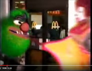 McDonalds Commercial I Am Hungry H-B SPIN, CARTOON - WACKY SPIN WITH DRUM