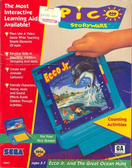 Ecco Jr. and the Great Ocean Treasure Hunt (Video Game)